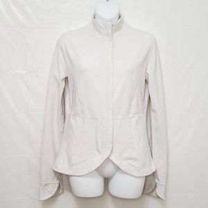 RARE Lululemon White Baja Shape Jacket